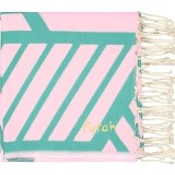 Futah_Beach Towel_Comporta_Pink_Emerald_2_A_min