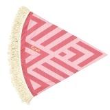 Futah_Beach_Towel_ROUND_Benagil_Pink&Red;_2_min