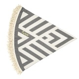 Futah_Beach_Towel_ROUND_Benagil_Black&White;_2_min