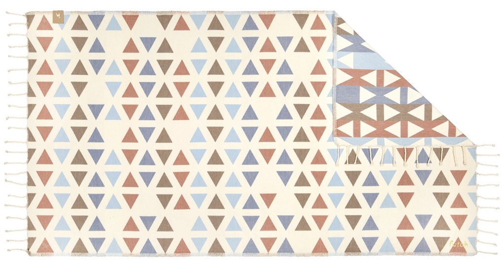 Futah_Beach_Towel_SantaBarbara_Blue&Clay;_1_A