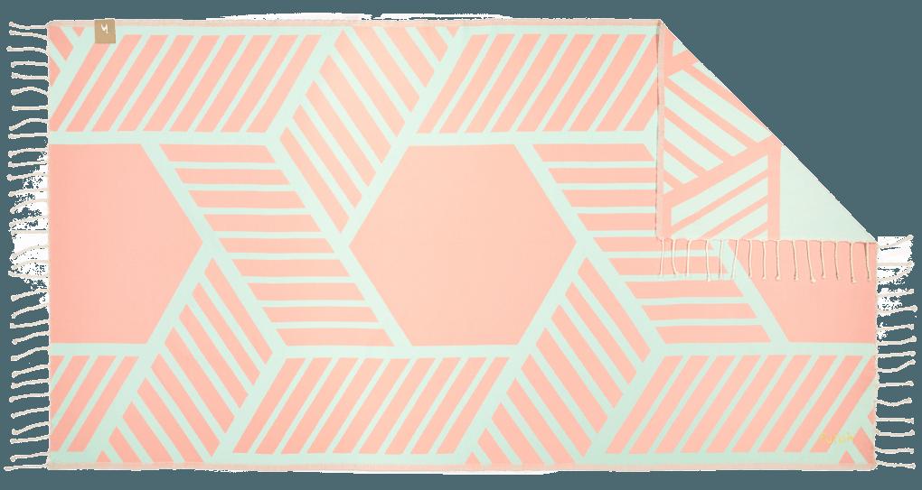 Futah_Beach_Towel_Comporta_Pink&Mint;_1_A