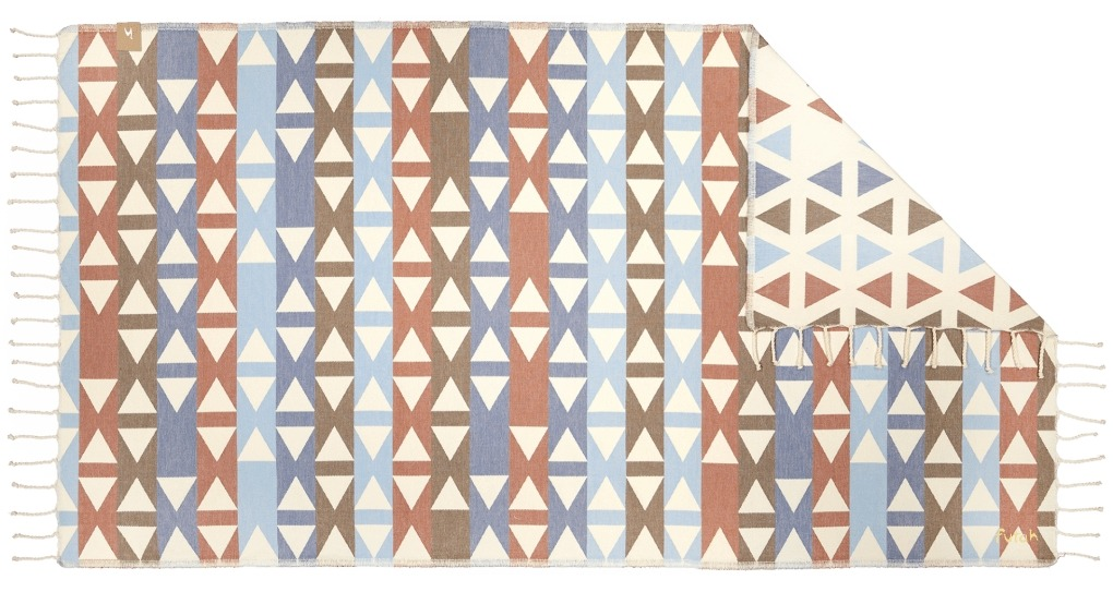 Futah_Beach_Towel_SantaBarbara_Blue&Clay;_1_B