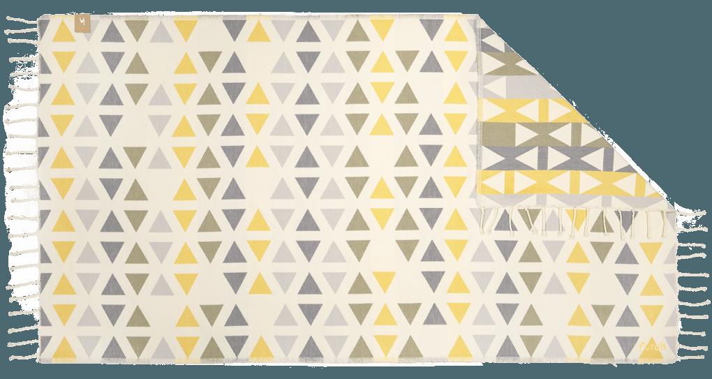 Futah_Beach_Towel_SantaBarbara_Yellow&Olive;_1_A
