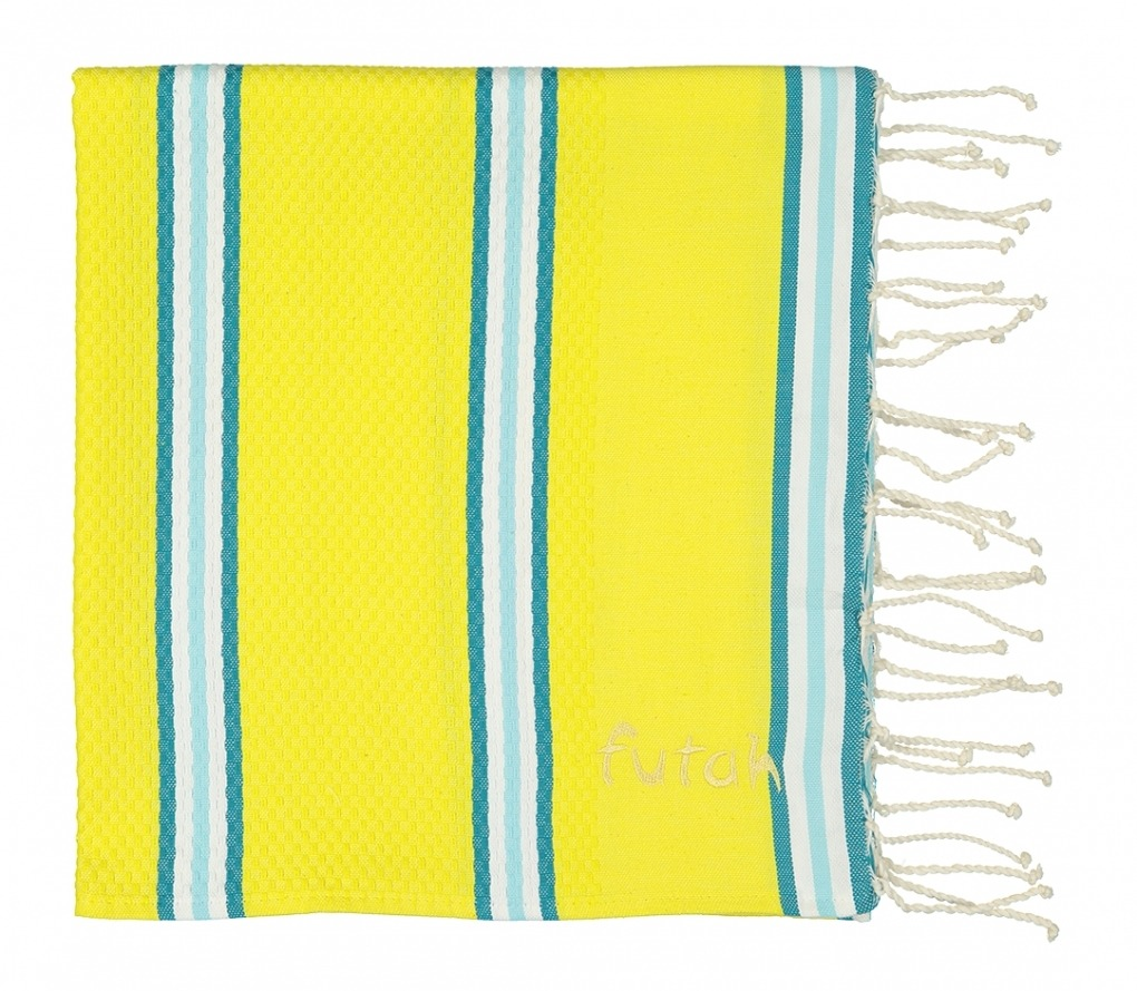 Futah_Beach_Towel_KIDS_Castelo_Yellow_2