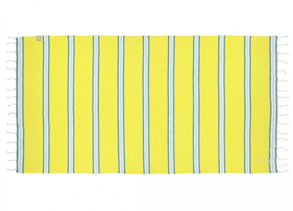 Futah_Beach_Towel_KIDS_Castelo_Yellow_1