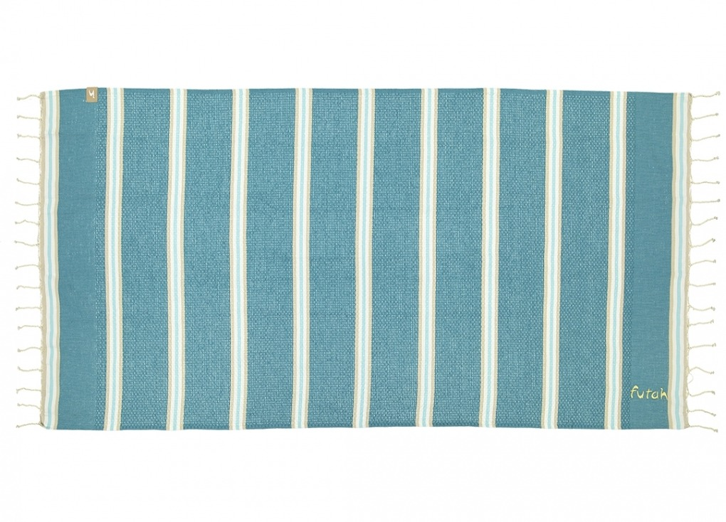 Futah_Beach_Towel_KIDS_Castelo_Teal_1