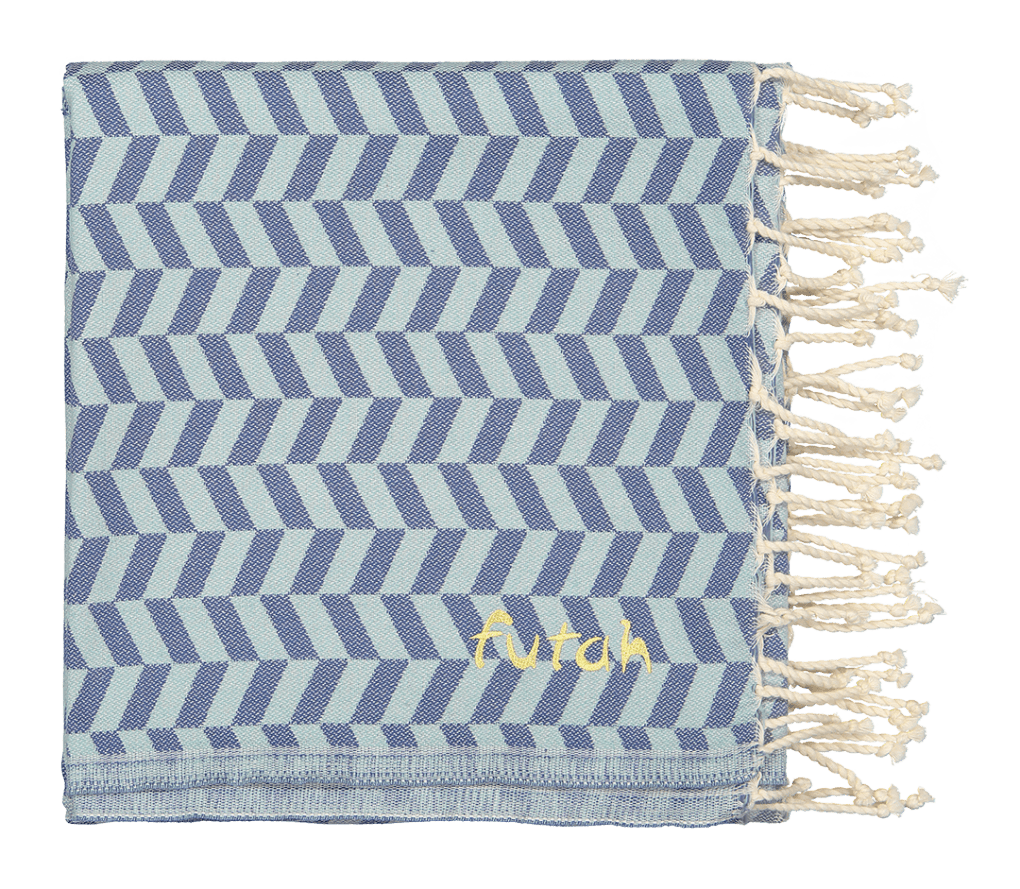 Futah_Beach Towel_Colatra_Blue_2