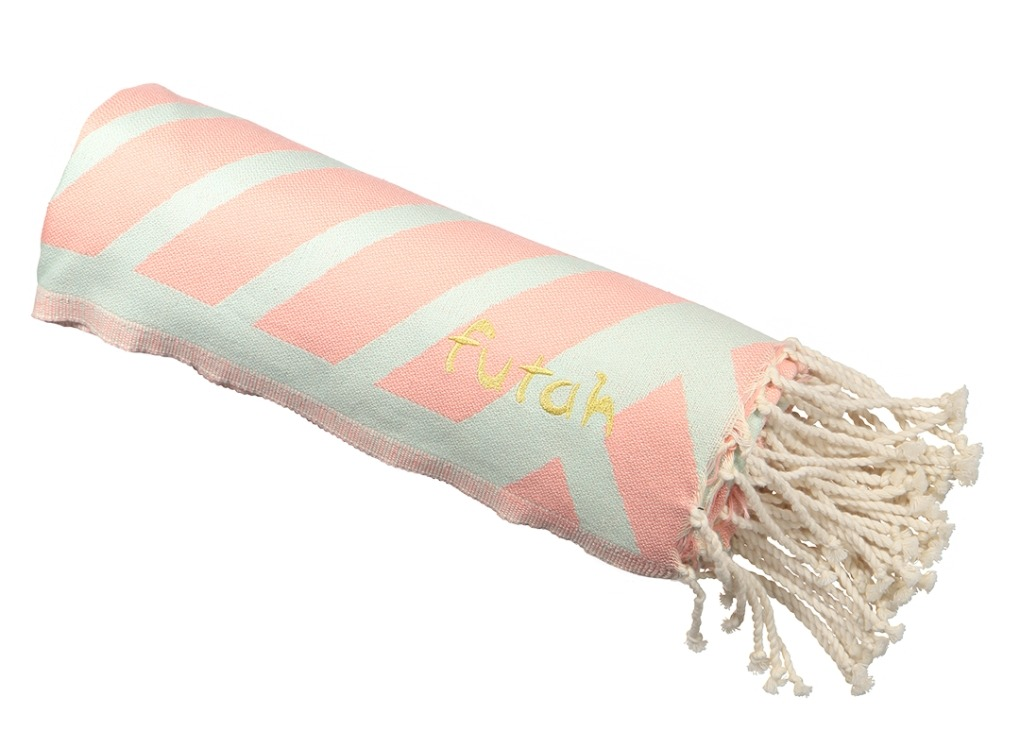 Futah_Beach_Towel_Comporta_Coral&Mint;_5