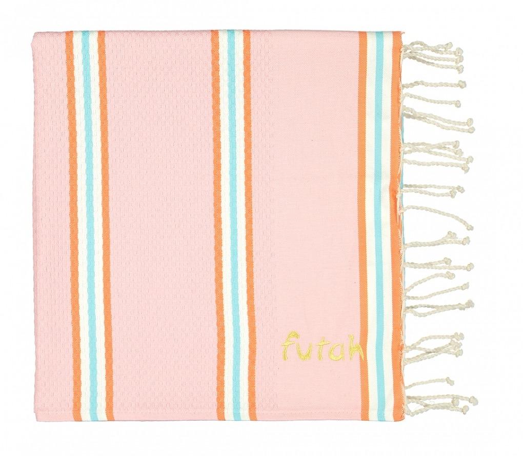 Futah_Beach_Towel_KIDS_Castelo_Pink_2