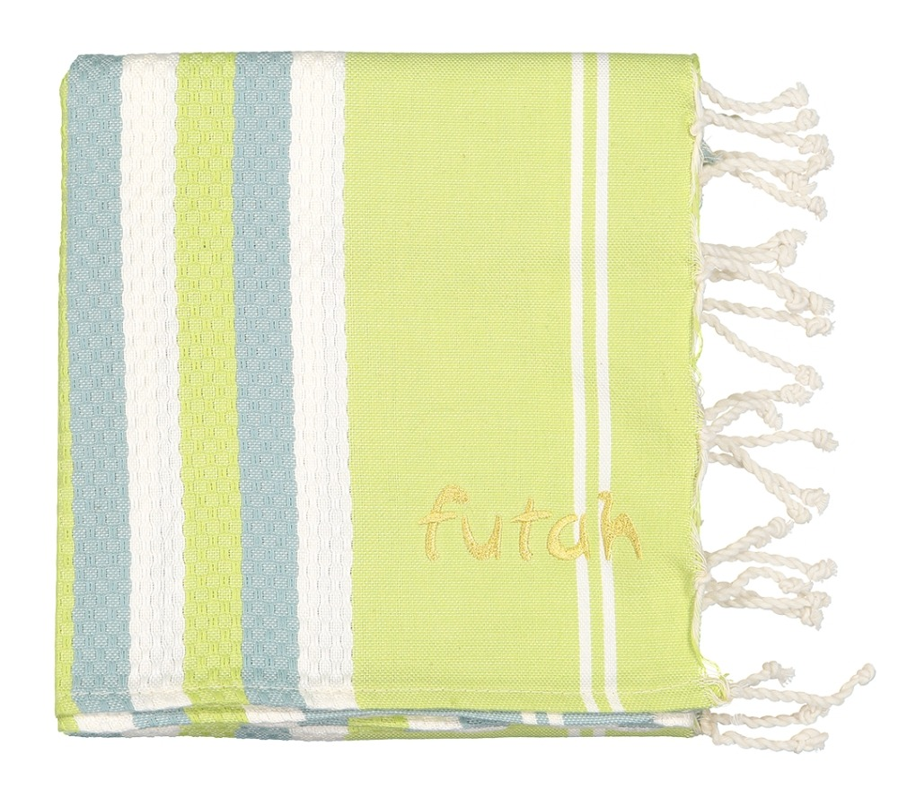 Futah_Beach_Towel_KIDS_Canavial_Lime_2