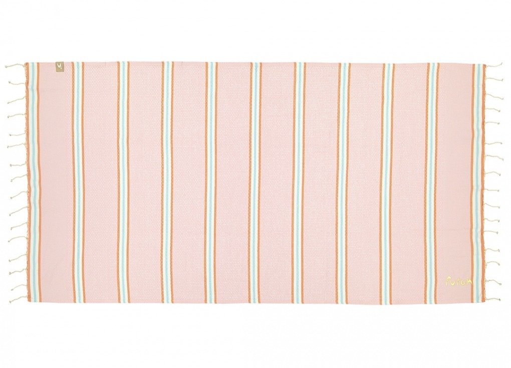 Futah_Beach_Towel_KIDS_Castelo_Pink_1
