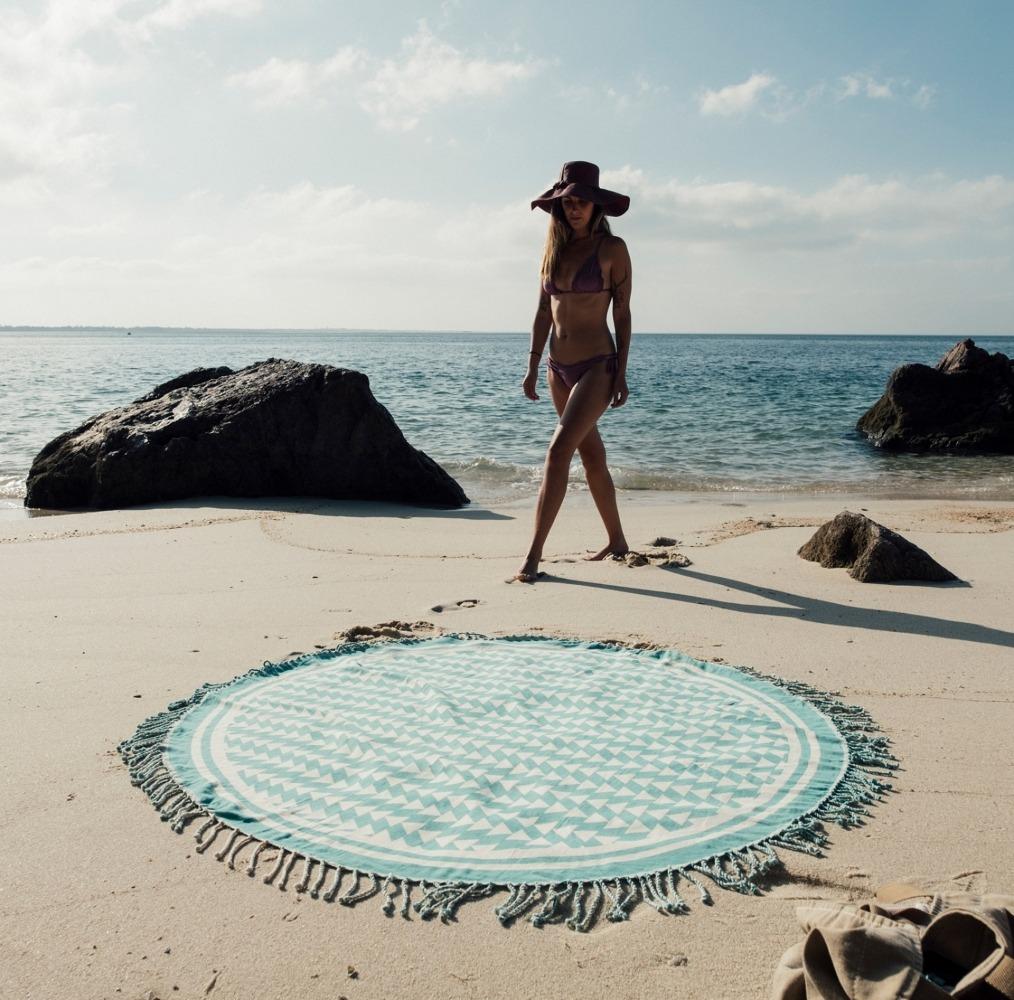 Futah_Beach_Towel_ROUND_Guincho_Emerald_3