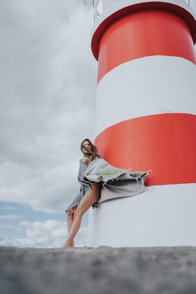 08535_Futah Beach Towels_Zambujeira Olive and Grey