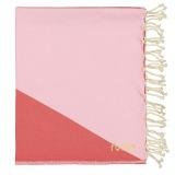 Futah_Beach_Towel_zambujeira_ pink & red _Folded__min