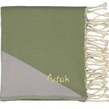 Futah_Beach_Towel_zambujeira olive & grey - front_Folded_min