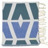 Futah_Beach_Towel_cova do vapor_ blue _Folded_min