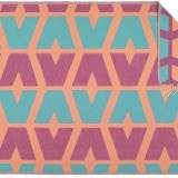 Futah_Beach_Towel_cova do vapor_ fuchsia & emerald 2_Front_min
