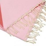 Futah_Beach_Towel_zambujeira pink & red _Detail_min