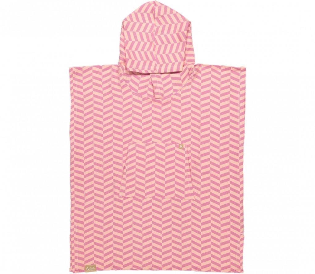 poncho kid porto santo pink & peach_Front_FUTAH