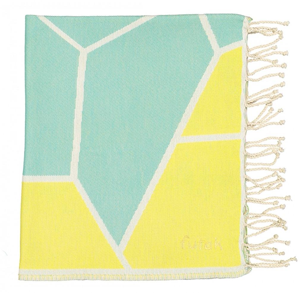 Futah_Beach_Towel_baleeira_ fluor_Folded