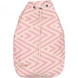 benagil 100% cotton backpack pink_Front_FUTAH_min