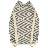 benagil 100% cotton backpack black_Back_FUTAH_min