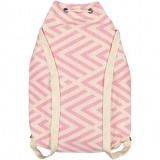 benagil 100% cotton backpack pink_Back_FUTAH_min