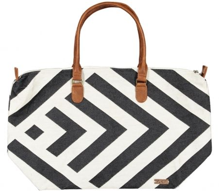 Futah - Beach Bag Benagil Black and White