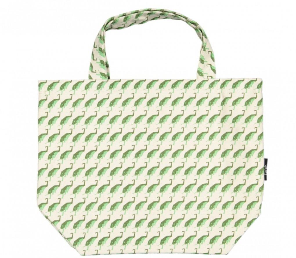 Tote Bag Chamaeleo Jungle Green Detail Futha Front