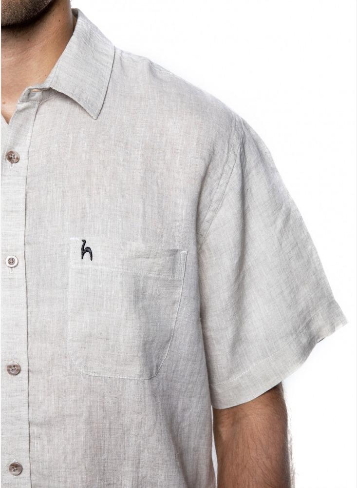 shirt linen detail futah