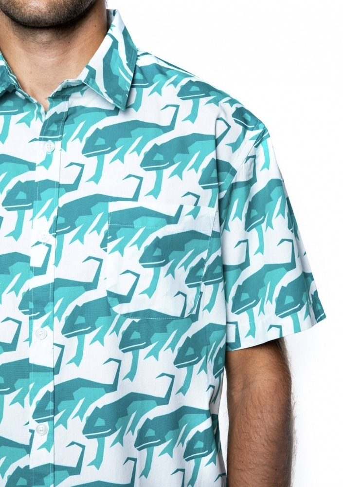 shirt chamaeleo detail futah