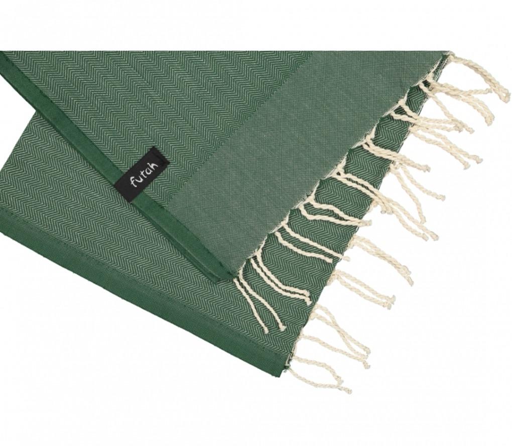 futah beach towels kids towel Ericeira Kids Towel Verdant Green Detail