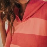 futah beach towels poncho Formosa Poncho Coral Peach Lookbook 4 DSC00548_min