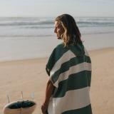 futah beach towels poncho Formosa Poncho Verdant Green Lookbook 3 DSC00531_min