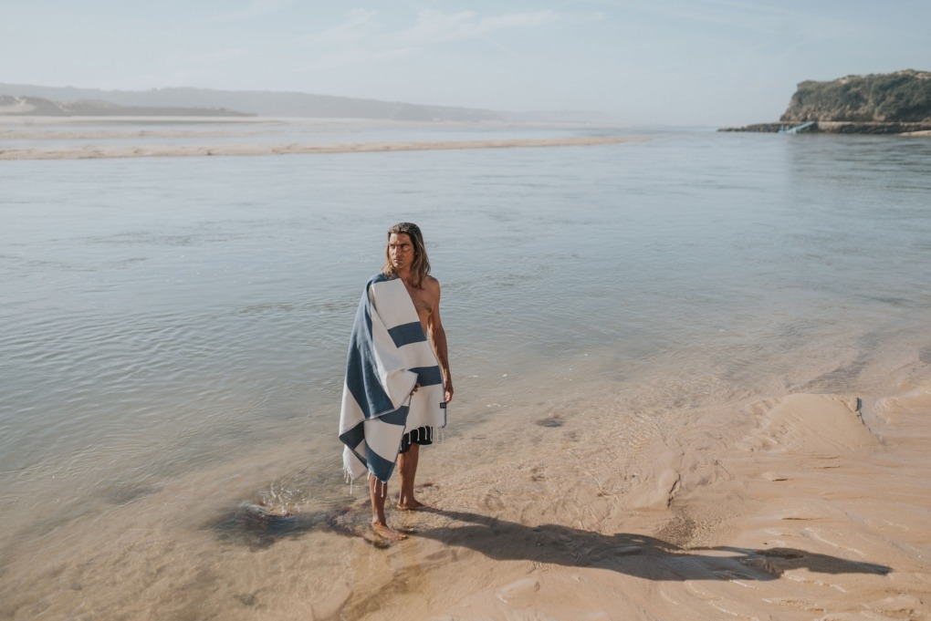 futah beach towels single Formosa Single Towel Indigo Blue Lookbook 12 DSC08267