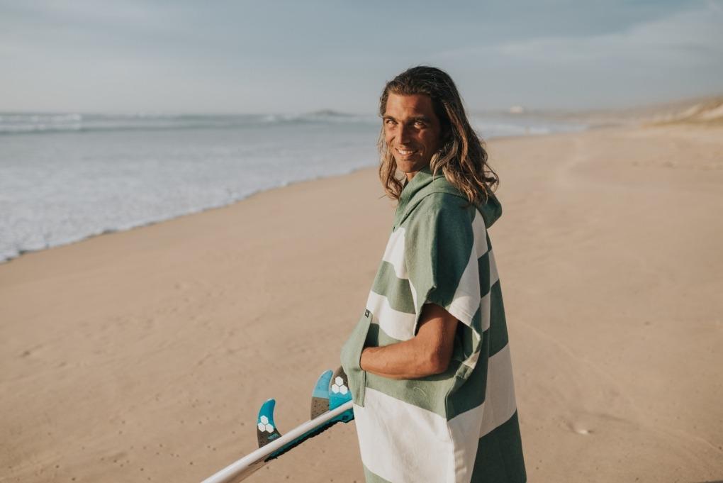 futah beach towels poncho Formosa Poncho Verdant Green Lookbook 2 DSC00528