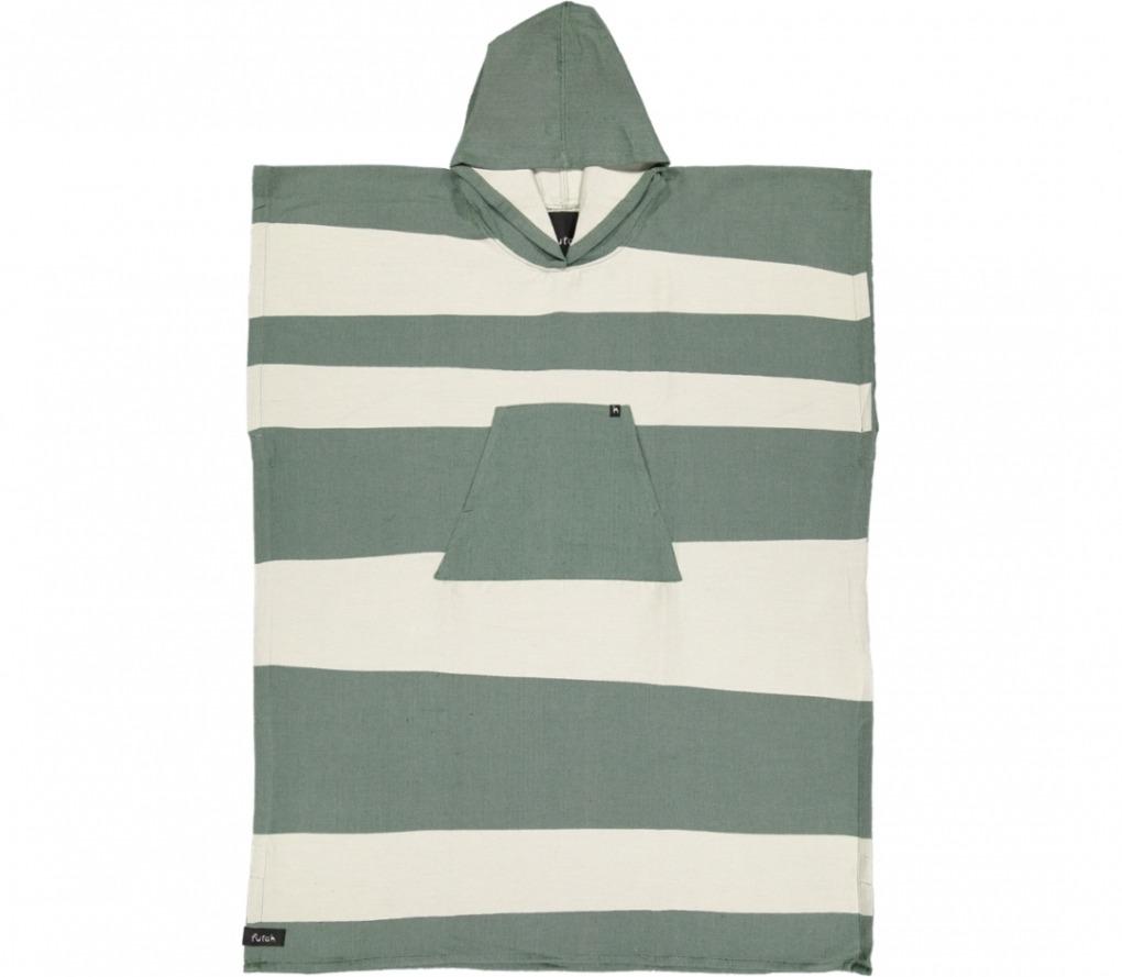 futah beach towels poncho Formosa Poncho Verdant Green Front