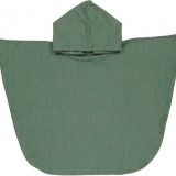 futah beach towels poncho baby Ericeira Baby Poncho Verdant Green Front_min