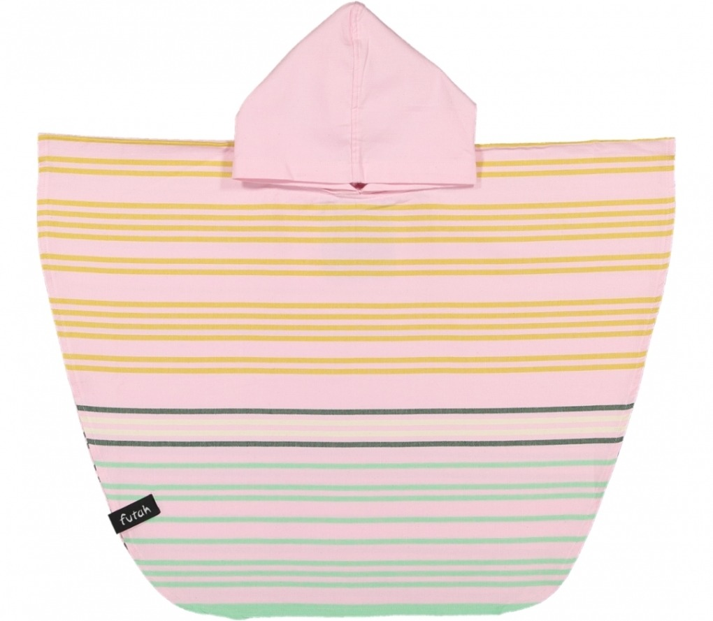 poncho baby sprtb mustard_Front_FUTAH