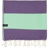 futah beach towels single Formosa Single Towel Purple Water Folded_min