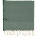futah beach towels single Ericeira Single Towel Verdant Green Folded_min