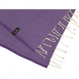 futah beach towels single Ericeira Single Towel Purple Detail_min
