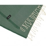 futah beach towels single Ericeira Single Towel Verdant Green Detail_min