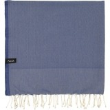 futah beach towels single Ericeira Single Towel Indigo Blue Folded_min