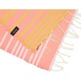 futah beach towels single Supertubos Single Towel Peach Detail_min