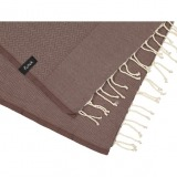 futah beach towels single Ericeira Single Towel Chestnut Detail_min