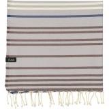 futah beach towels single Supertubos Single Towel Blue Folded_min
