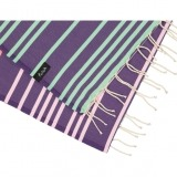 futah beach towels single Supertubos Single Towel Purple Detail_min