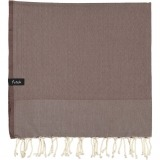 futah beach towels single Ericeira Single Towel Chestnut Folded_min