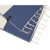 futah beach towels single Formosa Single Towel Indigo Blue Detail_min